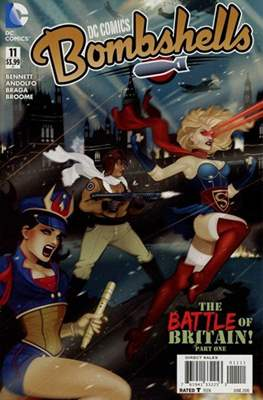 DC Comics: Bombshells (Comic Book) #11