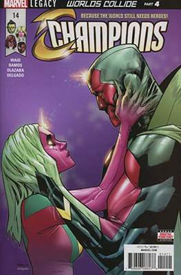 Champions Vol. 2 (Comic Book) #14
