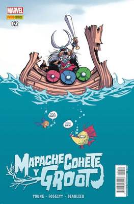 Mapache Cohete / Groot (2014-2018) (Grapa) #22