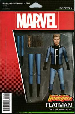 The Great Lakes Avengers Vol. 2 (Variant Covers) (Comic Book) #1.1