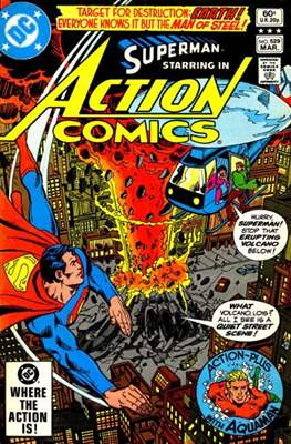 Action Comics Vol. 1 (1938-2011; 2016-) (Comic Book) #529