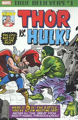 True Believers Kirby 100th Thor Vs. Hulk