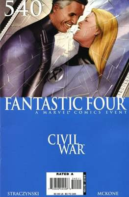 Fantastic Four Vol. 3 (Comic Book) #540