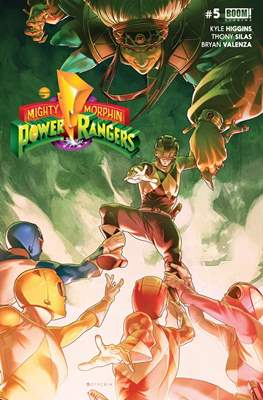 Mighty Morphin Power Rangers (Comic Book) #5