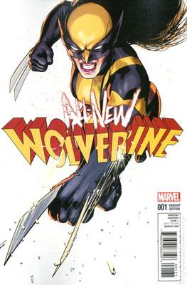 All-New Wolverine (2016-) Variant Covers
