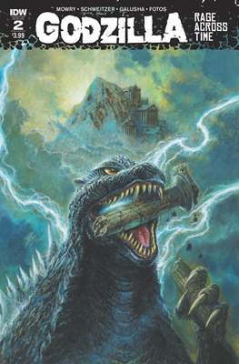 Godzilla Rage Across Time (Grapa 32 páginas - Color) #2