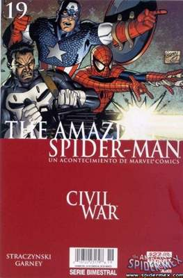 The Amazing Spider-Man (2005-2013) (Grapa) #19