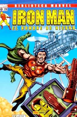 Biblioteca Marvel: Iron Man (2005-2008) (Rústica 160 pp) #23