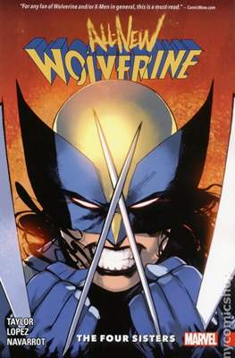 All-New Wolverine (2016) #1