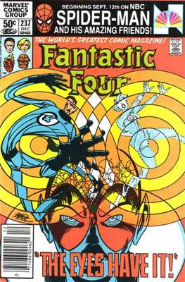 Fantastic Four Vol. 1 (1961-1996) (saddle-stitched) #237
