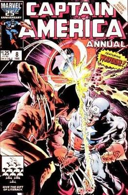 Captain America Vol. 1 Annual (1971-1994) #8
