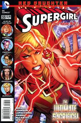 Supergirl Vol. 6 (2011-2015) (Comic Book) #33