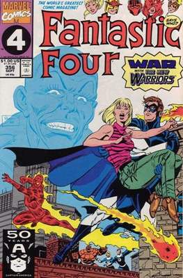 Fantastic Four Vol. 1 (1961-1996) (saddle-stitched) #356