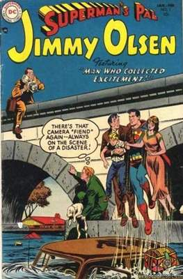 Superman's Pal, Jimmy Olsen / The Superman Family (Comic Book) #3
