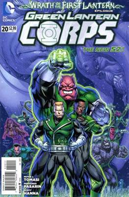 Green Lantern Corps Vol. 3 (2011-2015) #20