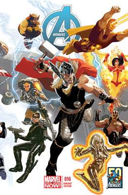 Avengers Vol. 5 (2013-2015 Variant Covers) (Comic Book) #16