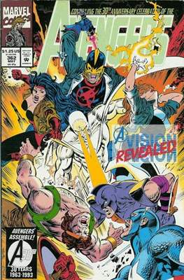 The Avengers Vol. 1 (1963-1996) (Grapa) #362