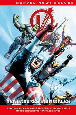 Los Vengadores de Jonathan Hickman. Marvel Now! Deluxe (Cartoné) #6