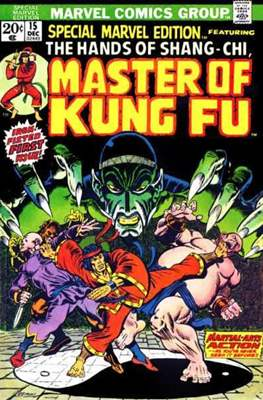 Special Marvel Edition (Comic Book. 1971 - 1974. Renamed and continued as Master of Kung Fu with issue 17) #15