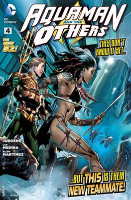 Aquaman and The Others (2014-2015) #4