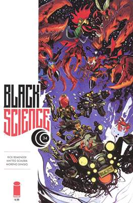 Black Science. Variant Covers (Comic-book) #34.1