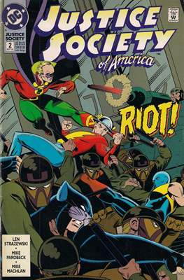 Justice Society of America Vol. 2 (1992-1993) #2