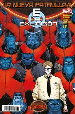La Nueva Patrulla-X / La Patrulla-X Azul / Patrulla-X Negra (2013-) (Grapa) #34