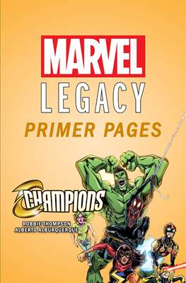 Champions: Marvel Legacy Primer Pages
