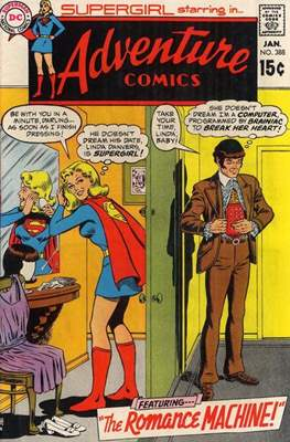 New Comics / New Adventure Comics / Adventure Comics (1935-1983; 2009-2011) (Saddle-Stitched) #388