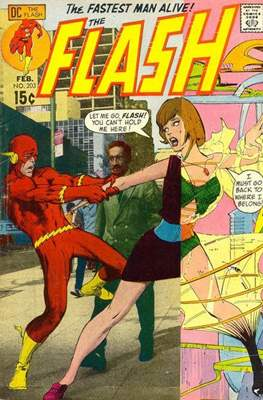 Flash Vol. 1 (1959-1985) (Comic Book 32 pp) #203