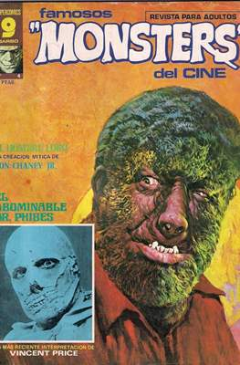 Famosos Monsters del Cine (Grapa , 66 páginas. 1975-1977) #4