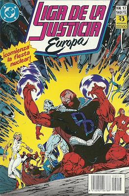 Liga de la Justicia Europa (1989-1992) (Grapa) #17