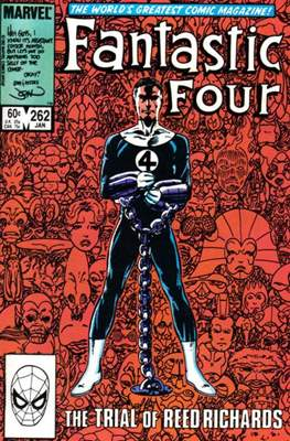 Fantastic Four Vol. 1 (1961-1996) (saddle-stitched) #262