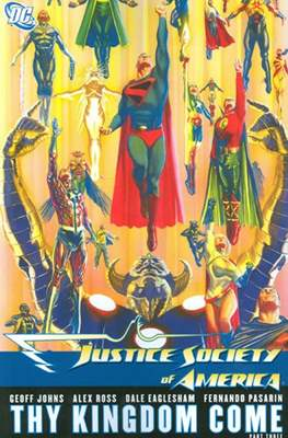Justice Society of America (2007) (Softcover) #4
