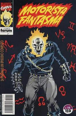 Motorista Fantasma (1991-1994) (Grapa. 17x26. 24 páginas. Color. (1991-1994).) #11