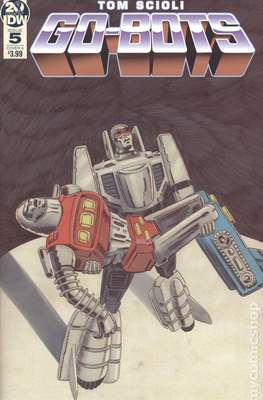 Go-Bots (Comic Book) #5
