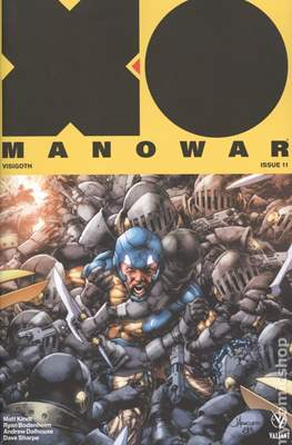 X-O Manowar Vol. 4 (2017-2019 Variant Cover) #11.2