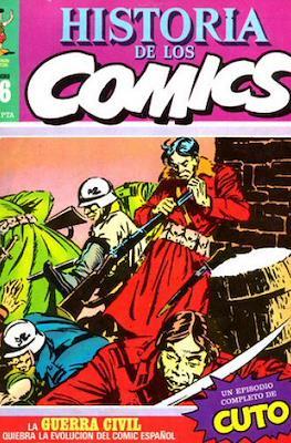 Historia de los Cómics (Grapa 32 pp) #16