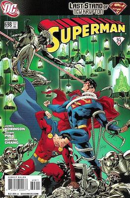 Superman Vol. 1 / Adventures of Superman Vol. 1 (1939-2011) (Comic Book) #698