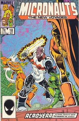 The Micronauts The New Voyages (Comic Book) #18