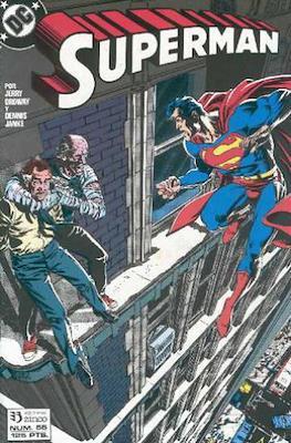 Superman: El Hombre de Acero / Superman Vol. 2 (Grapa 36 pp) #55