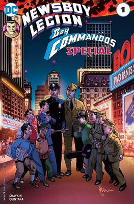 The Newsboy Legion and Boy Commandos Special (2017)