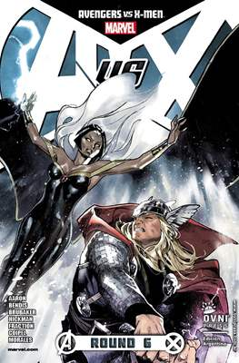 Avengers vs X men (Grapa) #6