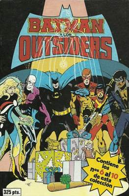 Batman y los Outsiders (1986) (Retapado Rústica) #2