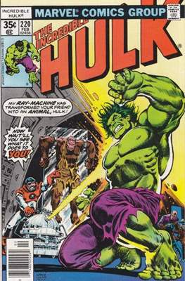 The Incredible Hulk Vol. 1 (1962-1999) (Comic Book) #220
