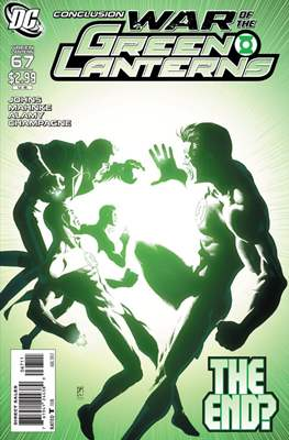 Green Lantern Vol. 4 (2005-2011) (Comic book) #67