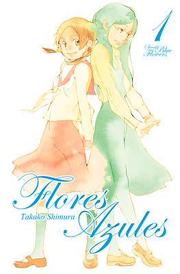 Flores azules (Rústica con sobrecubierta) #1