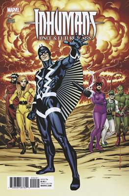 Inhumans - Once & Future Kings (Variant Covers) #2.2