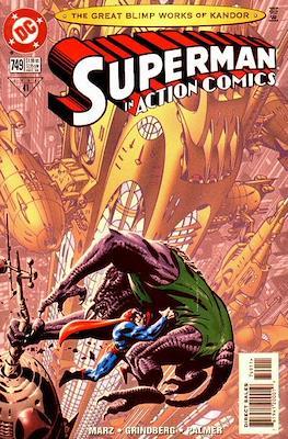 Action Comics Vol. 1 (1938-2011; 2016-) (Comic Book) #749