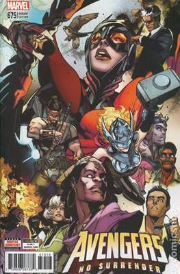 The Avengers Vol. 7 (2016-...Variant Covers ) (Grapa) #675.4